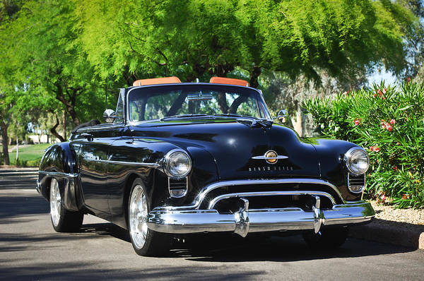 Photograph - 1950 Oldsmobile 88 -105c by Jill Reger