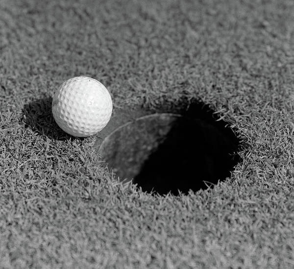 Wall Art - Photograph - 1950s Close-up Of Golf Ball On Green by Vintage Images