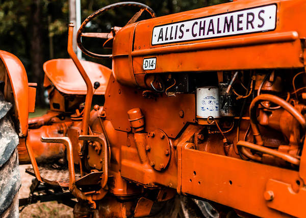 Tractor Photograph - 1950s-vintage Allis-chalmers D14 Tractor by Jon Woodhams