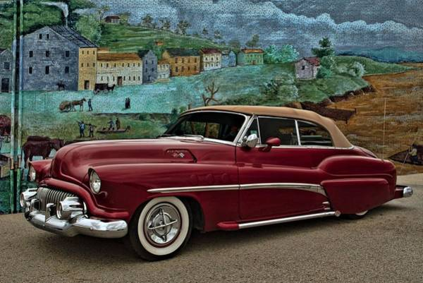 Photograph - 1951 Buick Custom Convertible by Tim McCullough
