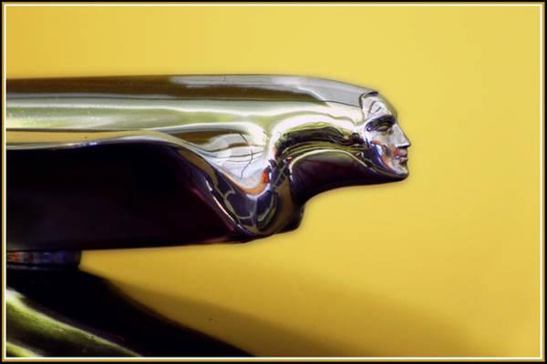 Photograph - 1951 Cadillac Goddess Hood Ornament by Ginger Wakem
