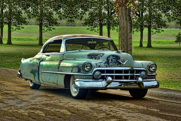 Photograph - 1951 Cadillac by Tim McCullough