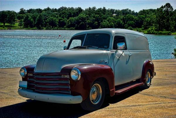 Photograph - 1951 Chevrolet Panel Truck by Tim McCullough