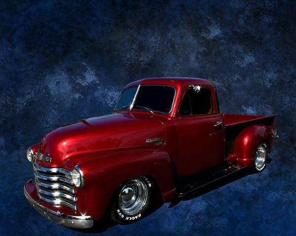 Photograph - 1951 Chevrolet Pickup Truck by Tim McCullough
