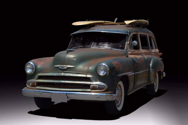Photograph - 1951 Chevrolet Station Wagon by Tim McCullough