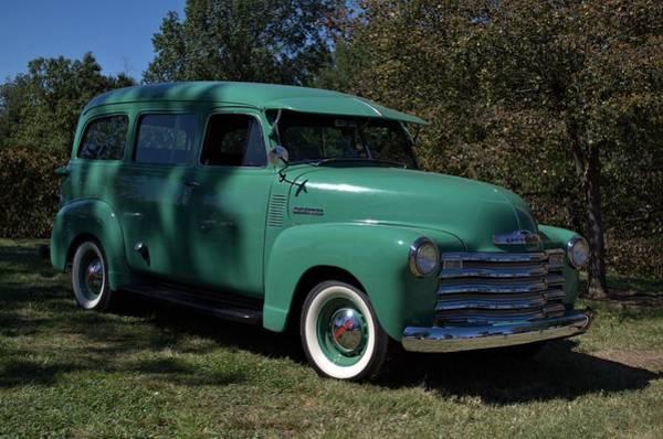 Photograph - 1951 Chevrolet Suburban Carryall by Tim McCullough