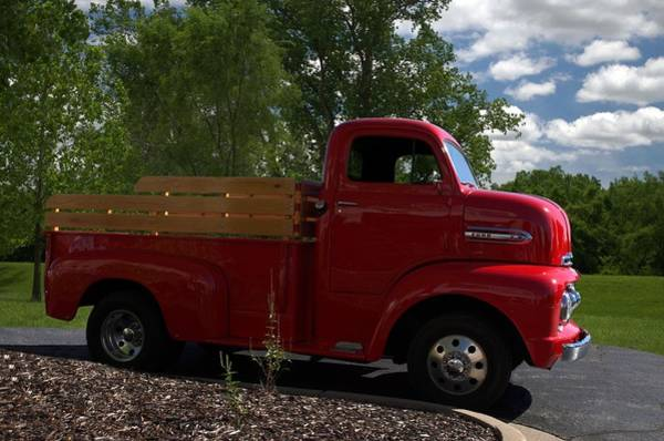 Photograph - 1951 Ford F6 Pickup Truck by Tim McCullough