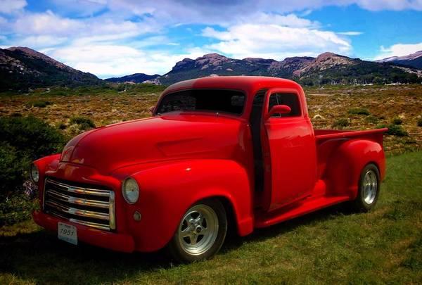 Photograph - 1951 Gmc Custom Pickup Truck by Tim McCullough