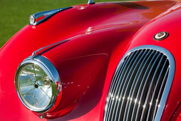Photograph - 1951 Jaguar Xk 120 Ots Grille Emblem by Jill Reger