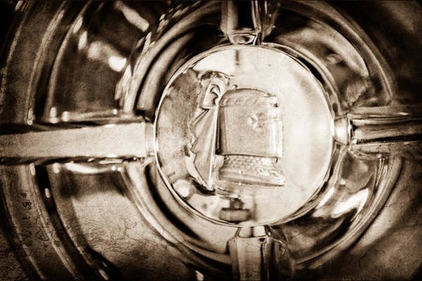 Photograph - 1951 Mercury Custom Emblem by Jill Reger