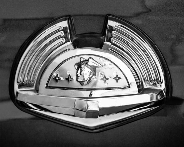 Photograph - 1951 Mercury Emblem 2 by Jill Reger