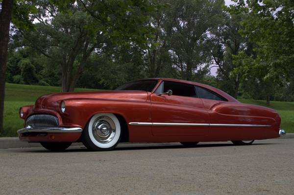 Photograph - 1951 Mercury Radical Custom by Tim McCullough