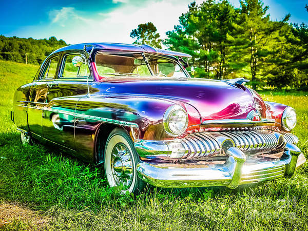 Sick Photograph - 1951 Mercury Sedan by Edward Fielding