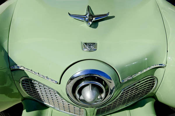 Wall Art - Photograph - 1951 Studebaker Commander Hood Ornament 2 by Jill Reger