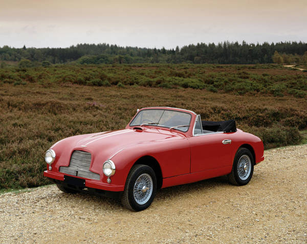 Motoring Photograph - 1952 Aston Martin Db2 3.0 Litre by Panoramic Images