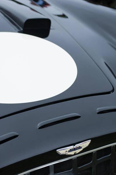 Photograph - 1952 Aston Martin Db3 Sports Hood Emblem by Jill Reger