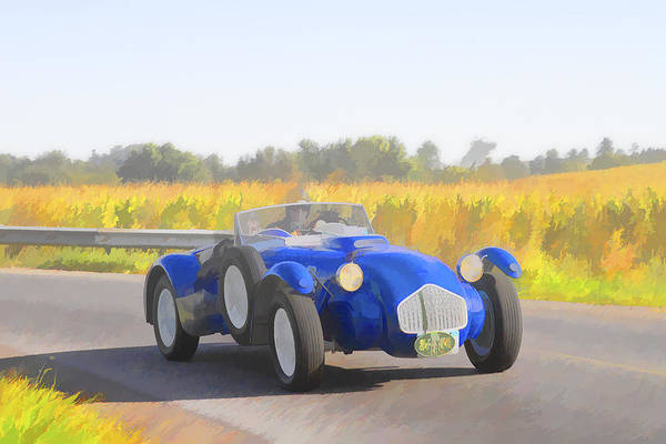 Photograph - 1953 Allard J2x Roadster by Jack R Perry