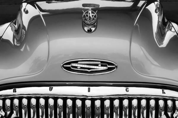 Photograph - 1953 Buick Hood Ornament - Emblem by Jill Reger