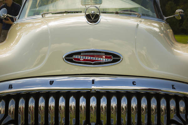 Photograph - 1953 Buick Roadmaster Skylark Convertible by Jack R Perry