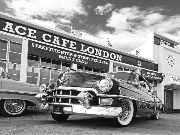 Photograph - 1953 Cadillac Coupe De Ville At The Ace by Gill Billington