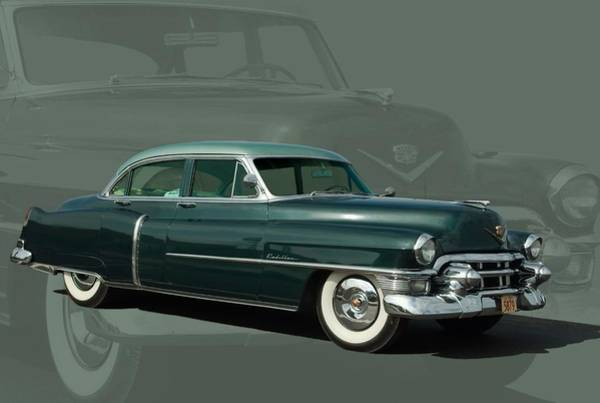 Photograph - 1953 Cadillac Sedan Deville by Tim McCullough