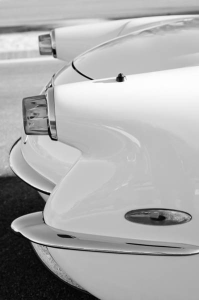 Photograph - 1953 Chevrolet Corvette Taillights by Jill Reger