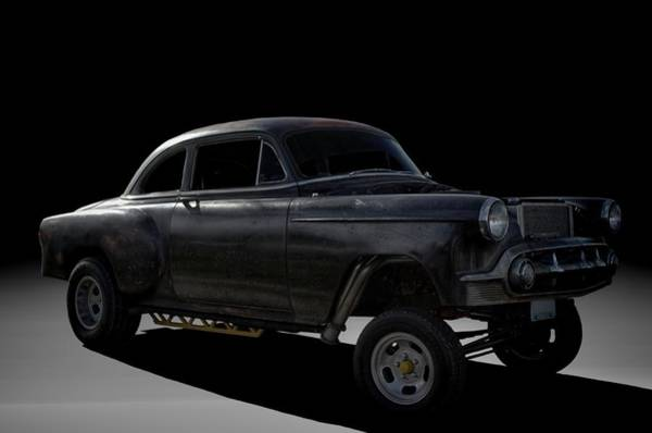 Photograph - 1953 Chevrolet Gasser Dragster by Tim McCullough