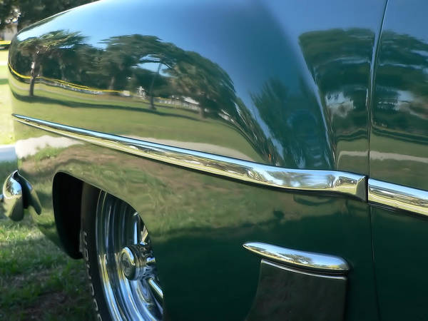 Photograph - 1953 Chevy 210 Rear Fender by Kathy K McClellan