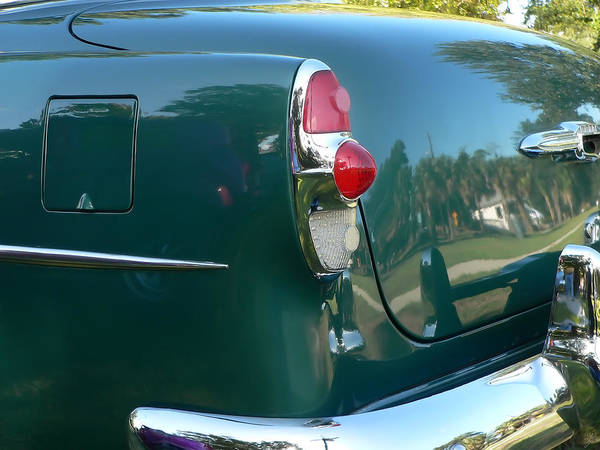 Photograph - 1953 Chevy 210 Taillight by Kathy K McClellan