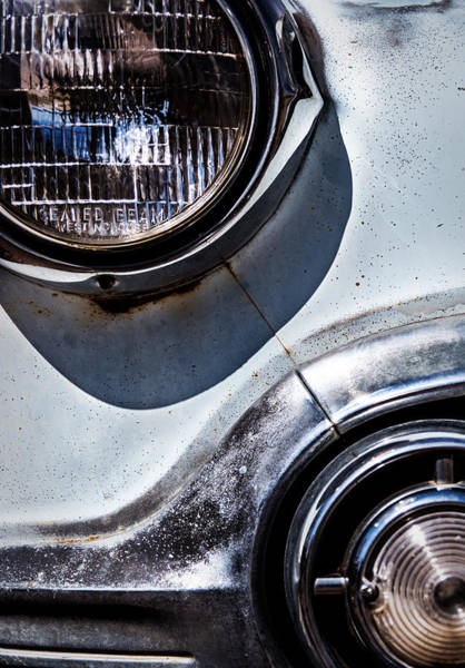 Photograph - 1953 Chevy Headlight Detail by  Onyonet  Photo Studios