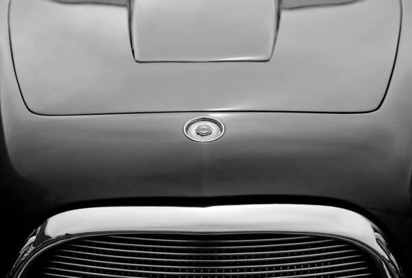 Photograph - 1953 Chrysler Gs-1 Ghia Hood Emblem by Jill Reger