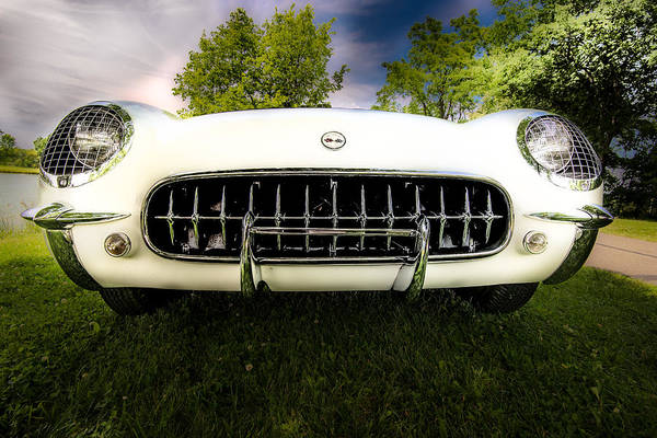 Photograph - 1954 Corvette Stingray by  Onyonet  Photo Studios