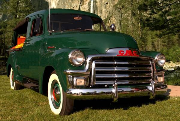 Photograph - 1953 Gmc Canopy Express by Tim McCullough