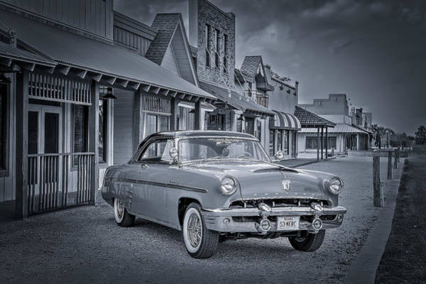 Photograph - 1953 Mercury Monterey Bw 1 by David Morefield