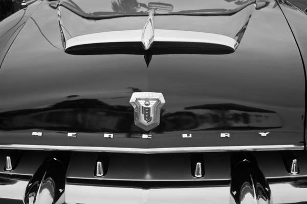 Photograph - 1953 Mercury Monterey Convertible Hood Ornament - Emblem by Jill Reger