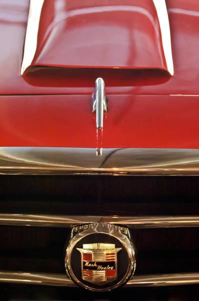 Healey Photograph - 1953 Nash-healey Roadster Grille Emblem by Jill Reger