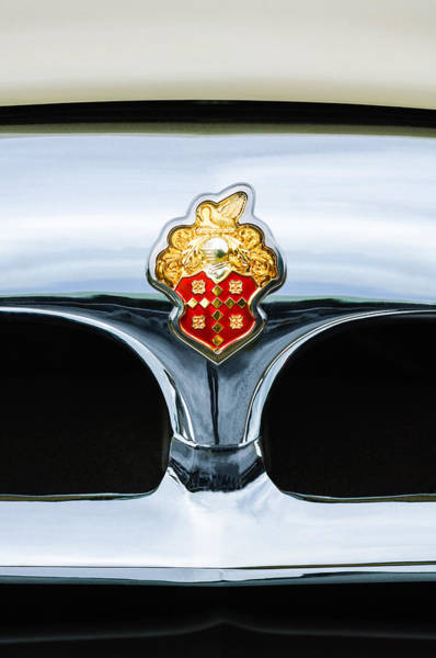Photograph - 1953 Packard Clipper Deluxe Sedan Grille Emblem by Jill Reger