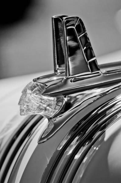Chiefs Photograph - 1953 Pontiac Hood Ornament 4 by Jill Reger