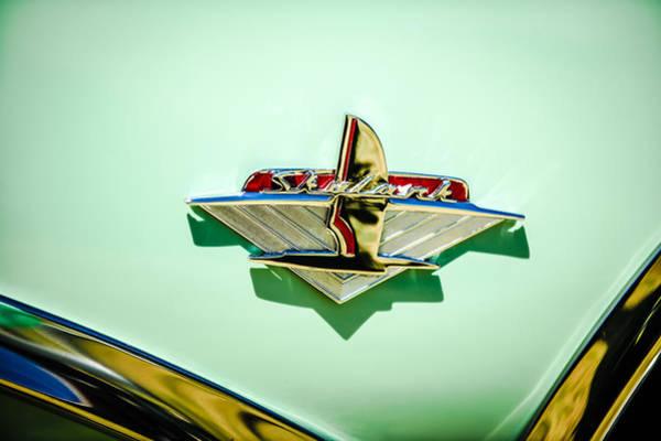 Photograph - 1954 Buick Skylark Convertible Emblem -0926c by Jill Reger