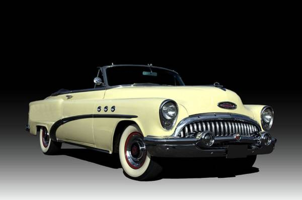 Photograph - 1954 Buick Special Convertible by Tim McCullough