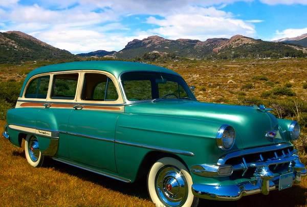 Photograph - 1954 Chevrolet Bel Air Station Wagon by Tim McCullough