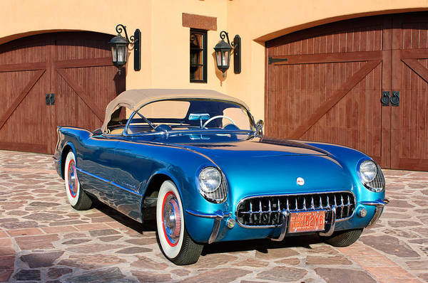 Photograph - 1954 Chevrolet Corvette -183c by Jill Reger