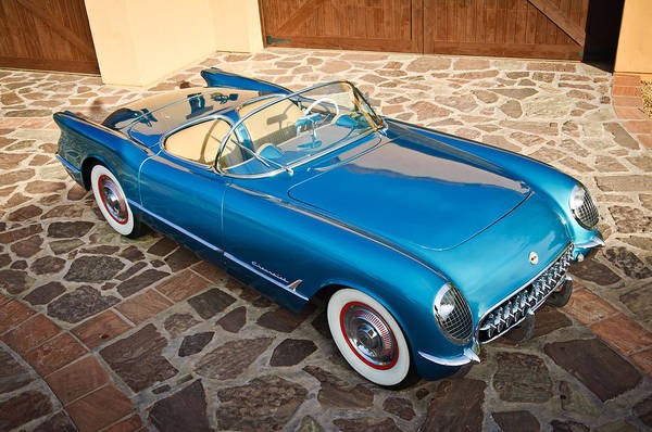 Photograph - 1954 Chevrolet Corvette -270c by Jill Reger