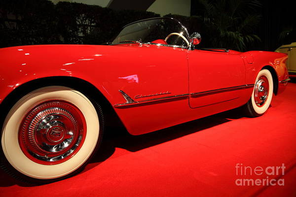 Wall Art - Photograph - 1954 Chevrolet Corvette 5d26620 by Wingsdomain Art and Photography