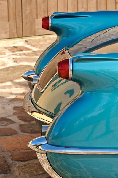 Photograph - 1954 Chevrolet Corvette Taillights -304c by Jill Reger