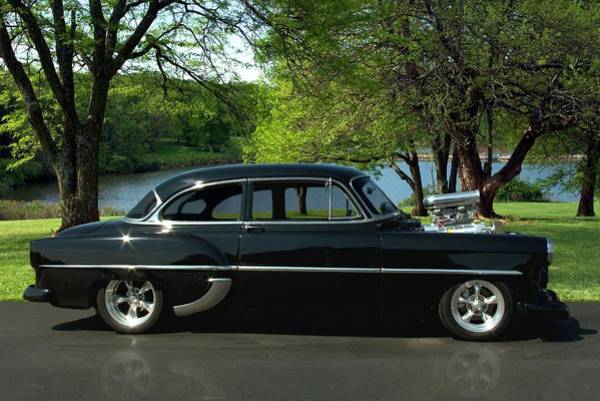 Photograph - 1954 Chevrolet Hot Rod by Tim McCullough