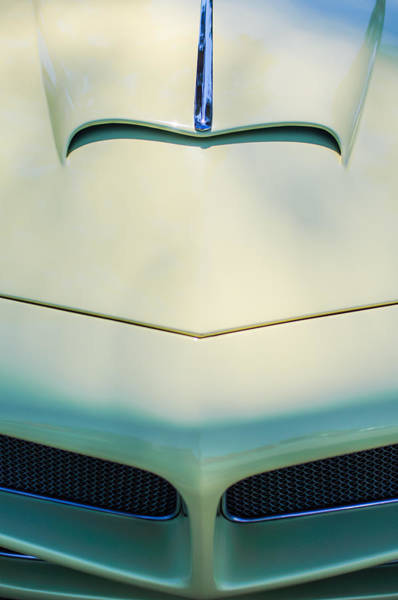 Photograph - 1954 Fiat 1100 Berlinetta Stanguellini Bertoneo Front End -0414c by Jill Reger