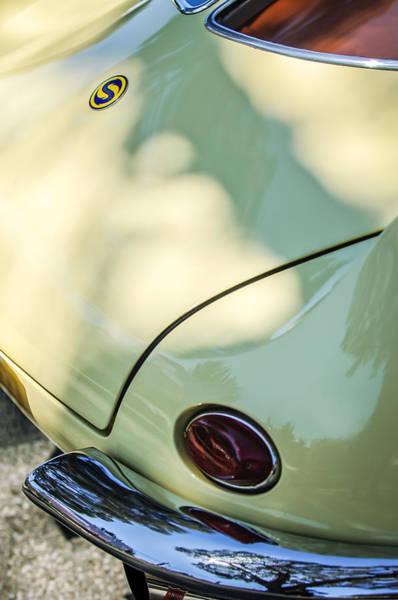 Photograph - 1954 Fiat 1100 Berlinetta Stanguellini Bertoneo Taillight -1764c by Jill Reger