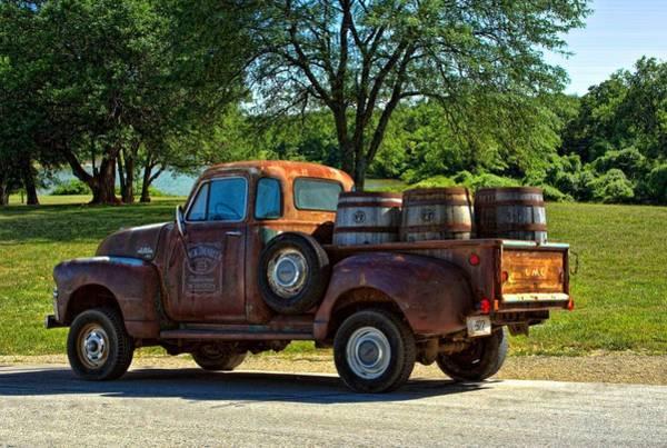 Photograph - 1954 Gmc Jack Daniels Pickup Truck by Tim McCullough
