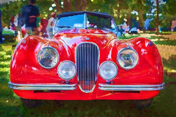 Photograph - 1954 Jaguar Xk 120 Se Ots by Rich Franco